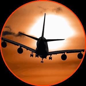 Pasajes aéreos.